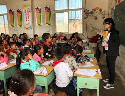 LCWC Organized 'from Long-distance to Face to Face' Voluntary Teaching Activity