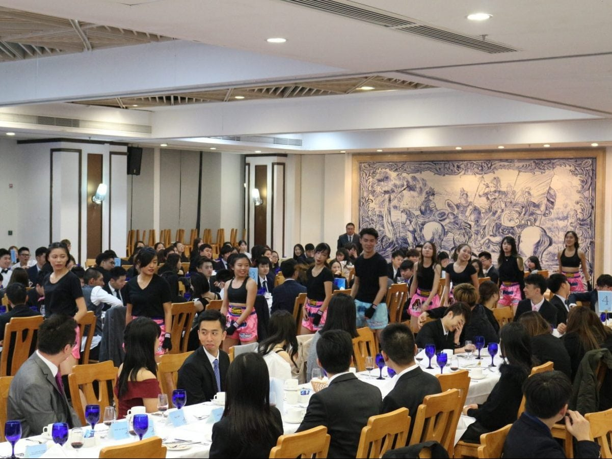 Lui Che Woo College holds its second High Table Dinner of AY2017/2018 successfully
