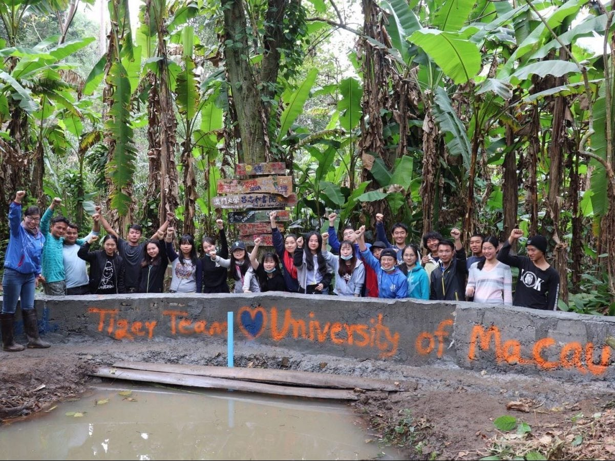Lui Che Woo College Successfully Organized Service-Learning Trip to Thailand