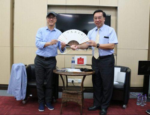 港科大校長陳繁昌教授到呂志和書院與學生分享