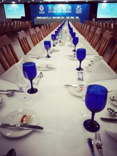 High Table Dinner