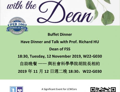 Dinner with the Dean