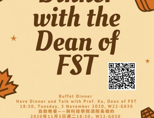 Master Dinner Series – Dinner with the Dean of FST