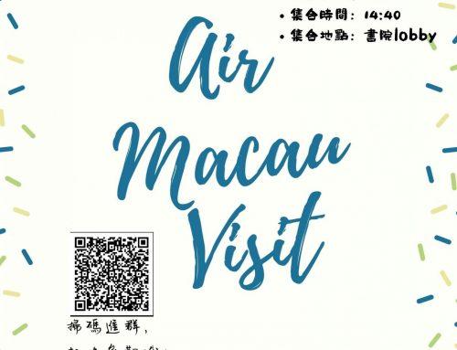 Air Macau Visit